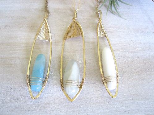 Set of 3 Long Drop Necklace