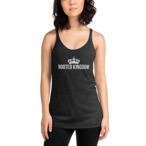 Rooted Kingdom Logo Women's Racerback Tank