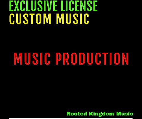 Exclusive License | Custom Music
