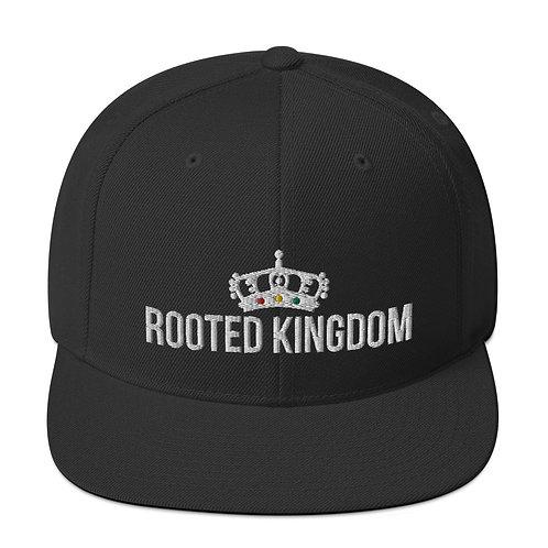 Rooted Kingdom Snapback Hat