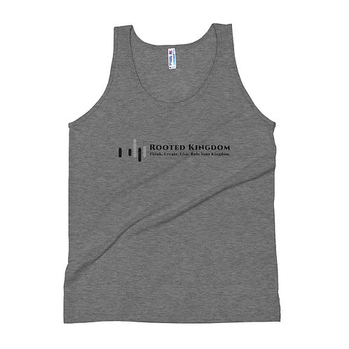 Rooted Kingdom Music Unisex Tank Top