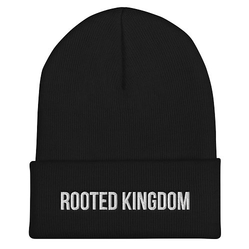 Rooted Kingdom Cuffed Beanie