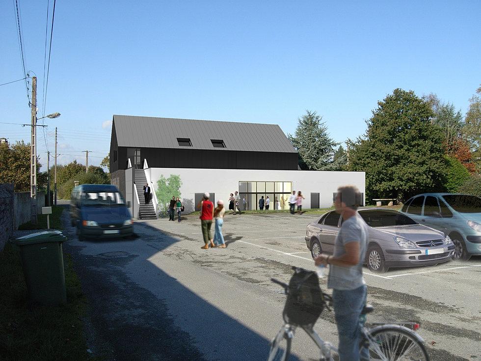 christophe rouill carline dory architectes dplg dinan 22 salle polyvalente le hingle. Black Bedroom Furniture Sets. Home Design Ideas