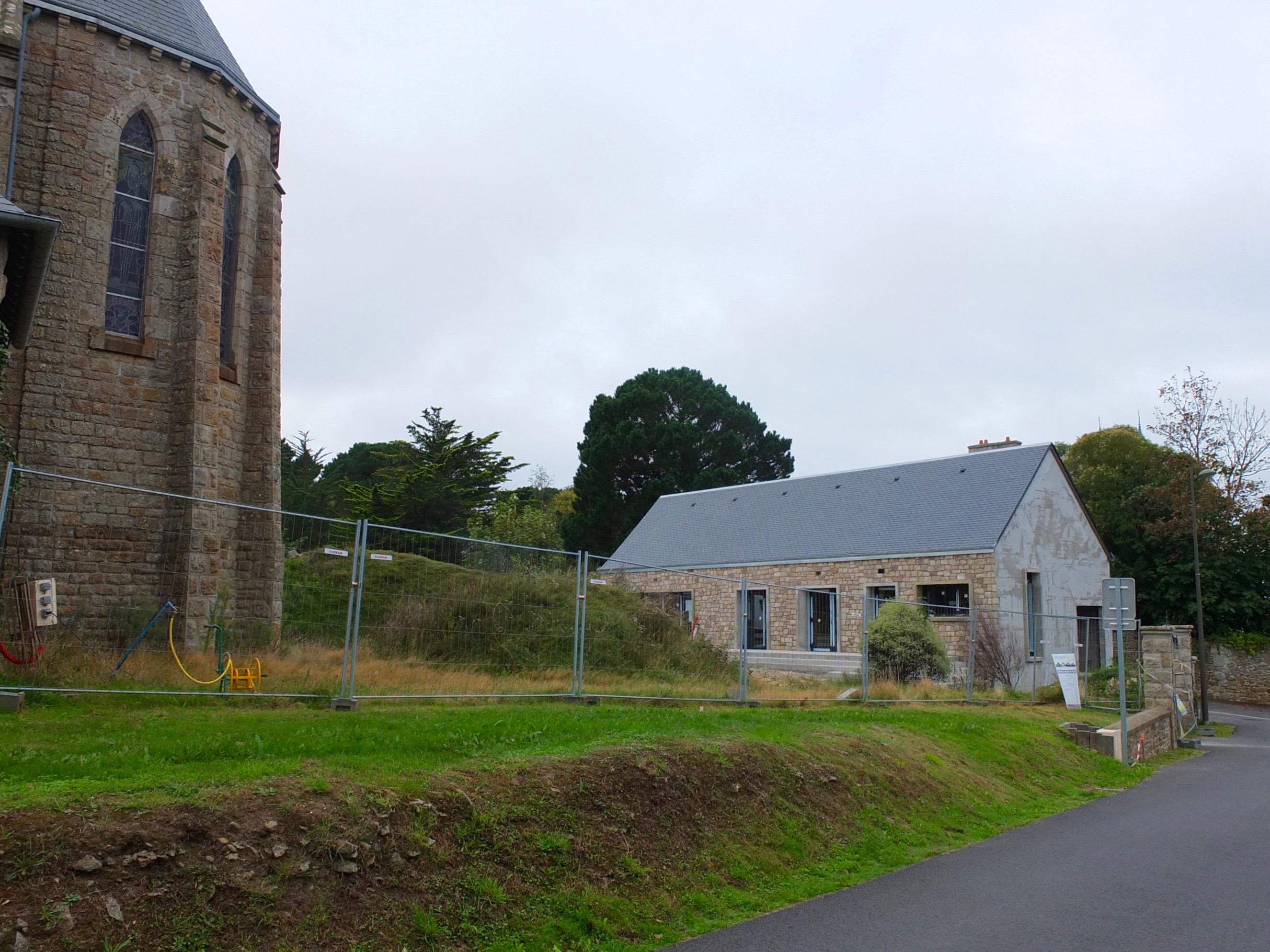 Maison paroissiale, Saint-Jacut-de-la-Mer