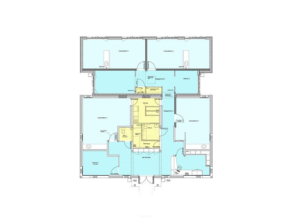 christophe rouill carline dory architectes dplg dinan 22 cabinet m dical vild guingalan. Black Bedroom Furniture Sets. Home Design Ideas