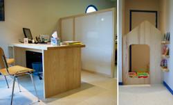 Mobilier, Cabinet médical