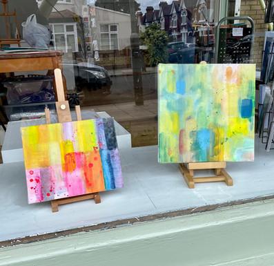 Julie's artworks