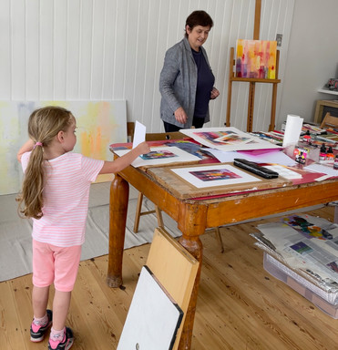 Art lovers of all ages