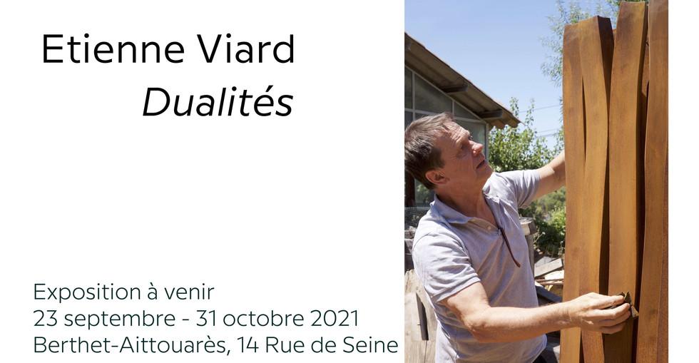 Etienne Viard, Exposition Dualités