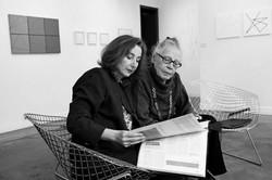 Vera Molnar et Odile Aittouarès