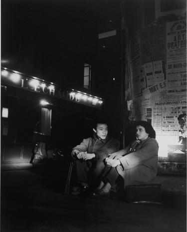 Paris la nuit : rue de l'Echaudé