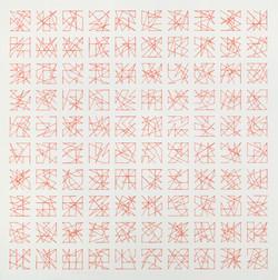 Vera Molnar, Hommage à Dürer, 1990, 1-1,