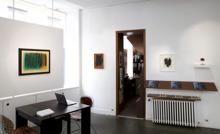 Vue d'ensemble de la galerie