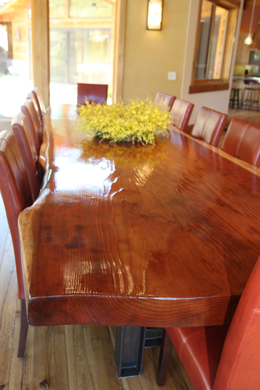 redwood giant dining table
