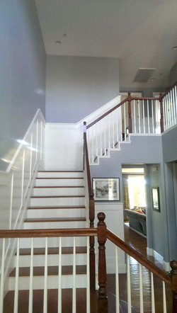 After - McCarthy Entryway Stairwell