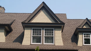 Dormer Details on Shingle Style Residence in Mendham, NJ