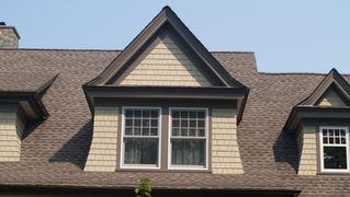 Dormer Details on Shingle Style Residence in Mendham, NJ