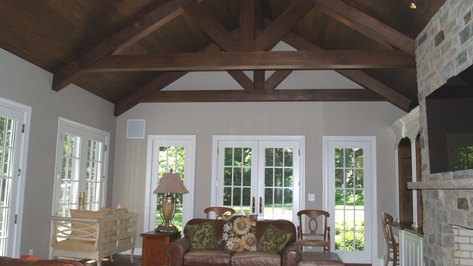 Colonial Additions & Alterations - Family Room - Architect in Madison, NJ