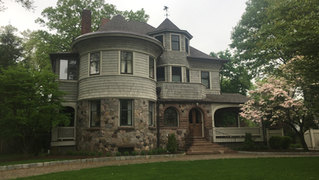 Front view of alterations in Summit, NJ by architect Jerry Bruno