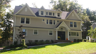 ShingleStyle Additions - Updated Front Facade - Architectural Alterations in Madison, NJ