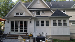 ShingleStyle Additions - Updated Rear Facade - Architectural Alterations in Madison, NJ