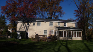 Cape Style Alterations - Existing Rear Facade - Architecture in Madison, NJ
