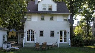 Tudor Additions - Old Rear Facade - Alterations in Madison, NJ