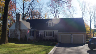 Cape Style Alterations - Existing Front Facade - Architecture in Madison, NJ