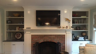 Cape Style - Fireplace - Architect in Madison, NJ