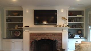 Cape Style - Fireplace - Architect in Madison, NJ