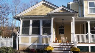 Victorian Additions & Alterations - Mudroom Facade - Architect in Madison, NJ