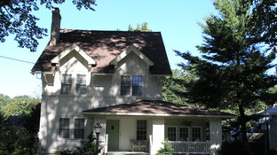 Tudor Additions - Old Front Facade - Alterations in Madison, NJ
