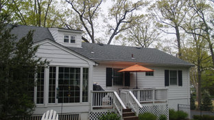 ShingleStyle Additions - Rear Facade - Architectural Alterations in Madison, NJ