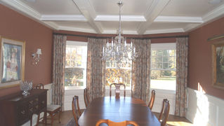 Dining Room Alterations for Shingle Style Residence in Mendham, NJ