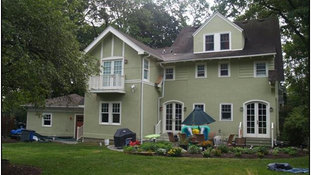 Tudor Additions - Updated Rear Facade - Alterations in Madison, NJ
