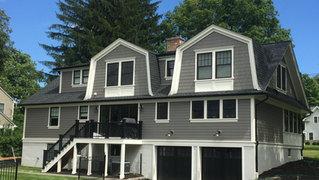 Shingle Style - Rear Facade - Architect in Madison, NJ