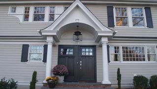 ShingleStyle Additions - Portico - Architectural Alterations in Madison, NJ