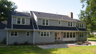 Cape Style - New Rear Facade - Architect in Madison, NJ