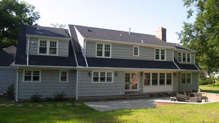 Cape Style - New Rear Facade - Architect in Madison, NJ