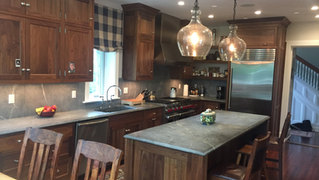 Kitchen alteration in Summit, NJ by architect Jerry Bruno