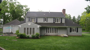 Cape Style - Existing Rear Facade - Architect in Madison, NJ