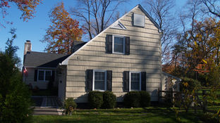 Cape Style Alterations - Existing Side Facade - Architecture in Madison, NJ