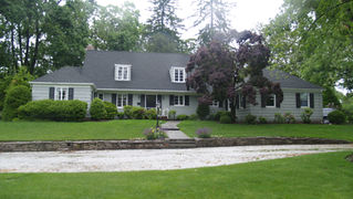 Cape Style - Existing Front Facade - Architect in Madison, NJ