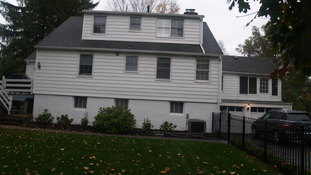 Shingle Style - Existing Rear Facade - Architect in Madison, NJ