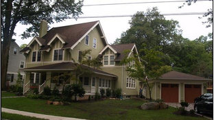 Tudor Additions - Updated Front Facade - Alterations in Madison, NJ