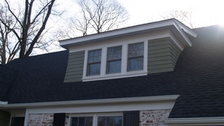 Cape Style Alterations - Front Dormer - Architecture in Madison, NJ