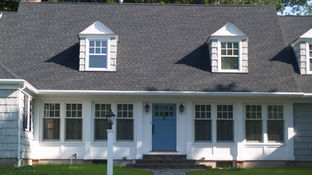 Cape Style - New Front Facade - Architect in Madison, NJ