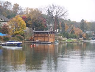 Tudor Style Boathouse