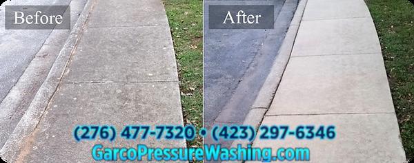 Commercial Concrete Pressure Washing Sur