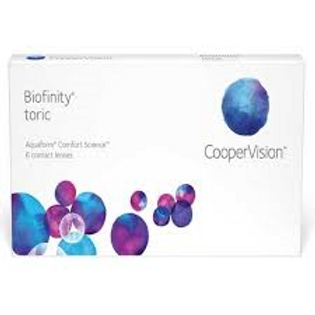 Biofinity Toric 6 Pack--Monthly